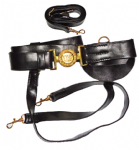 Union Officers Leather Sword Belt